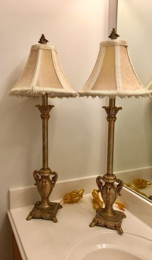 New and used lamp shades for sale in houston tx offerup two side table lamps cinco ranch katy for sale in katy tx aloadofball Choice Image