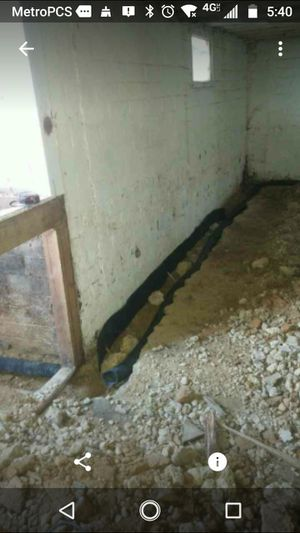 French Drain Waterproofing for Sale in Baltimore, MD