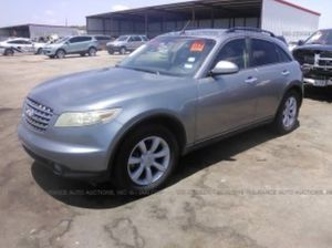 04 Infinity FX35 For parts for Sale in Dallas, TX