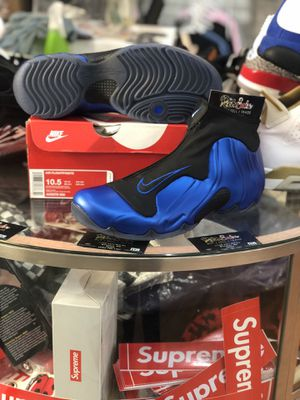 Brand New Air Flightposite Dark Neon Royal size 10.5 for Sale in Silver Spring, MD