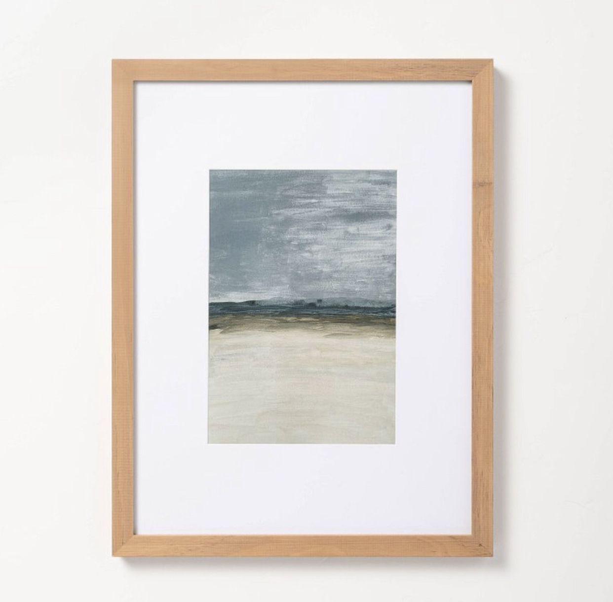 "12"" x 16"" Landscape Vertical Framed Wall Art - Hearth & Hand Magnolia"