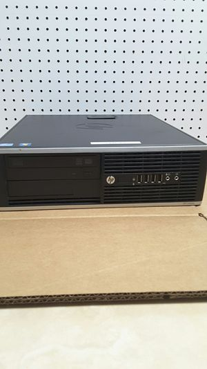 For HP 8300 Elite small form factor desktop computer intel core windows 10 for Sale in Belle Isle, FL