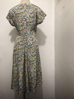 Vintage floral dress Thumbnail