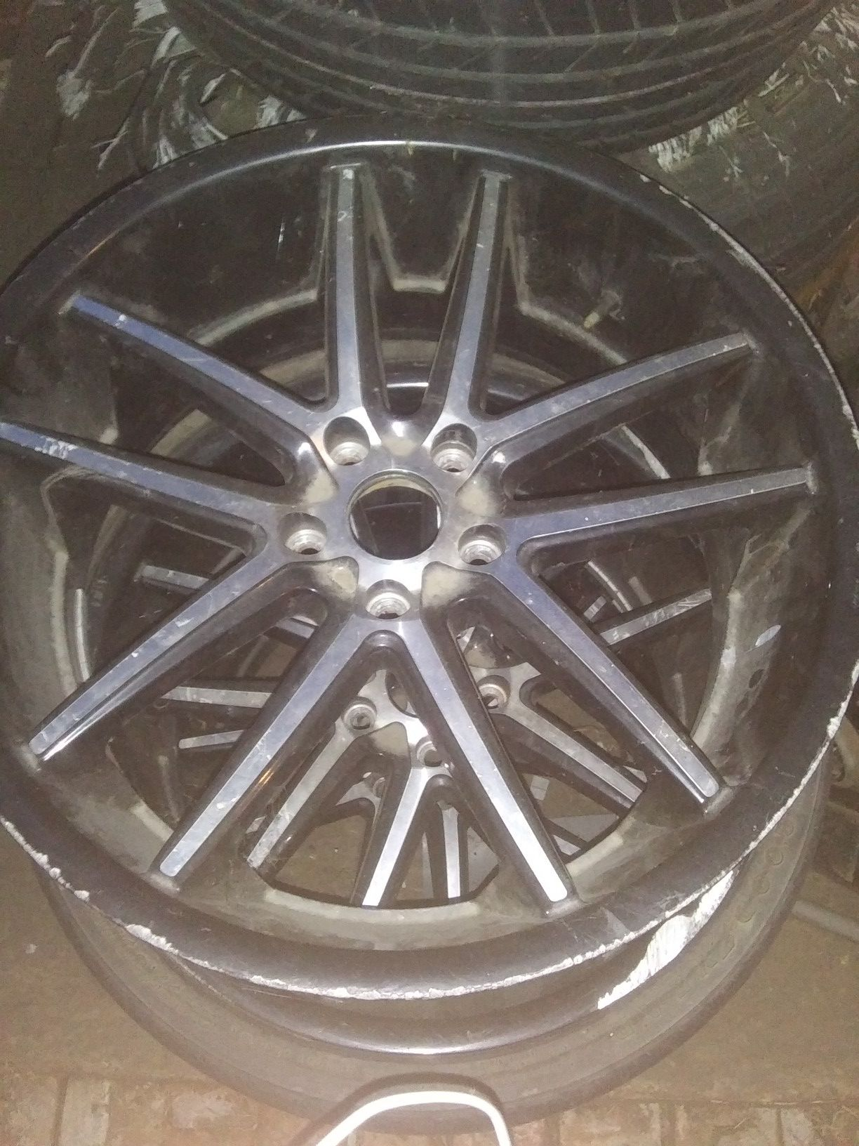 I have 3 of these rims 20 inch all 3 need tires lug pattern 5x114