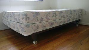 Queen Mattress, Springbox, Metal Bed Frame for Sale in Springfield, VA