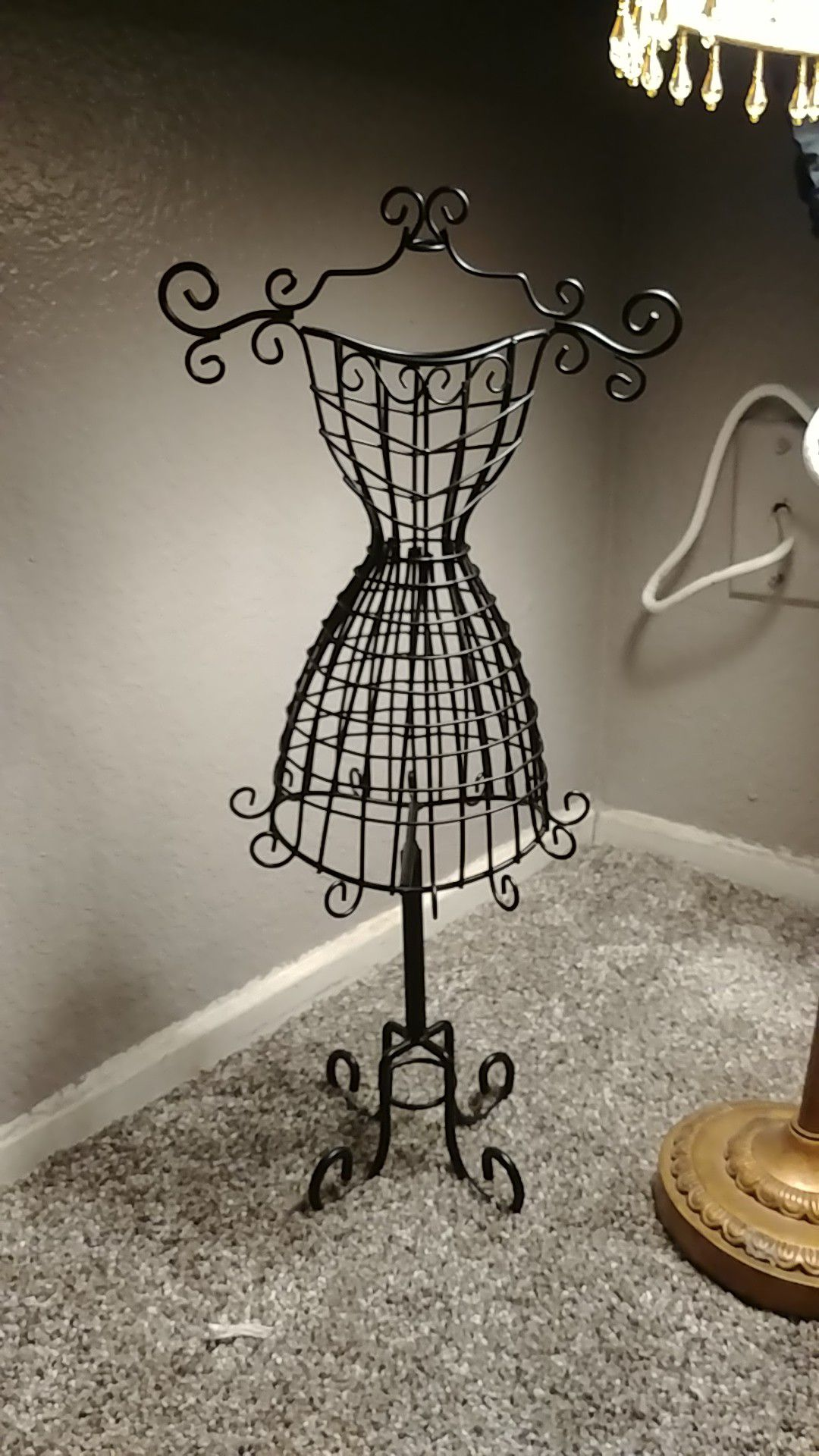 Jewerly dress holder