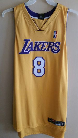 best service 7f5e5 2c5b8 Nike Kobe Bryant Lakers #8 Authentic Home Yellow Jersey for Sale in Downey,  CA - OfferUp