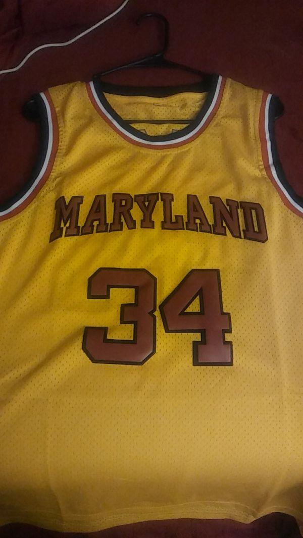 597803c623e9 Legendary Len Bias Maryland Terrapins Jersey New never worn size Small