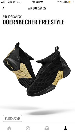 Nike Dorenbrcher Freestyle Jordan 15 DS Size 10 for Sale in Bethesda, MD
