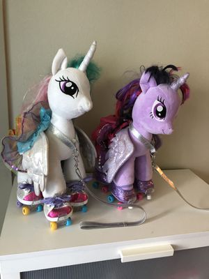 Build a bear my lil pony's $40 for both for Sale in Burien, WA