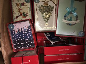 🎄🎄🎄Papyrus Holiday Christmas cards 🎄🎄🎄 for Sale in Rockville, MD