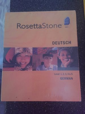 Rosetta Stone German Complete Levels 1-5 for Sale in San Diego, CA