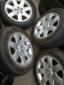 16 inch BMW rims with tires Thumbnail