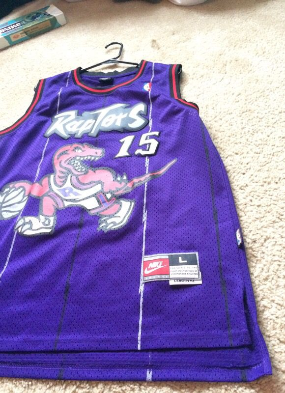 c7d405e44 Throwback Vince Carter Raptors Jersey for Sale in West Sacramento ...