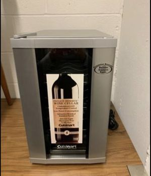 Cuisinart CWC-800 8-Bottle Private Reserve Wine Cellar, Stainless Finish for Sale in Washington, DC