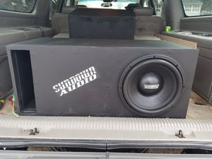 Photo Insane Sub 12 Sundown Audio SA12V3 in Spl ported box Ear destroyer