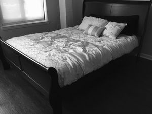 New Black Queen Sleigh Bed for Sale in Chevy Chase, MD