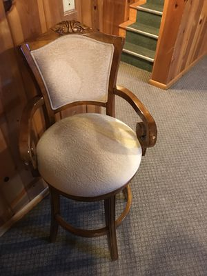 Set of 4 chairs. Good for a bar or pool table area. for Sale in Damascus, MD