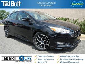 2016 Ford Focus SE FWD, Cold Weather Pkg, SE Sport pkg for Sale in Fairfax, VA