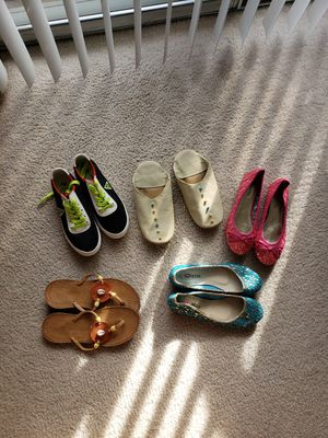 5 different girls shoes for Sale in Arlington, VA
