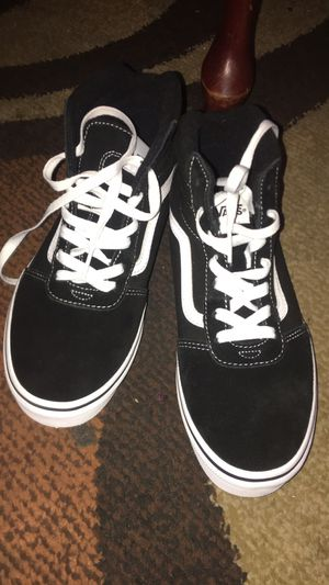 Old school black and white vans new for Sale in Springfield, VA