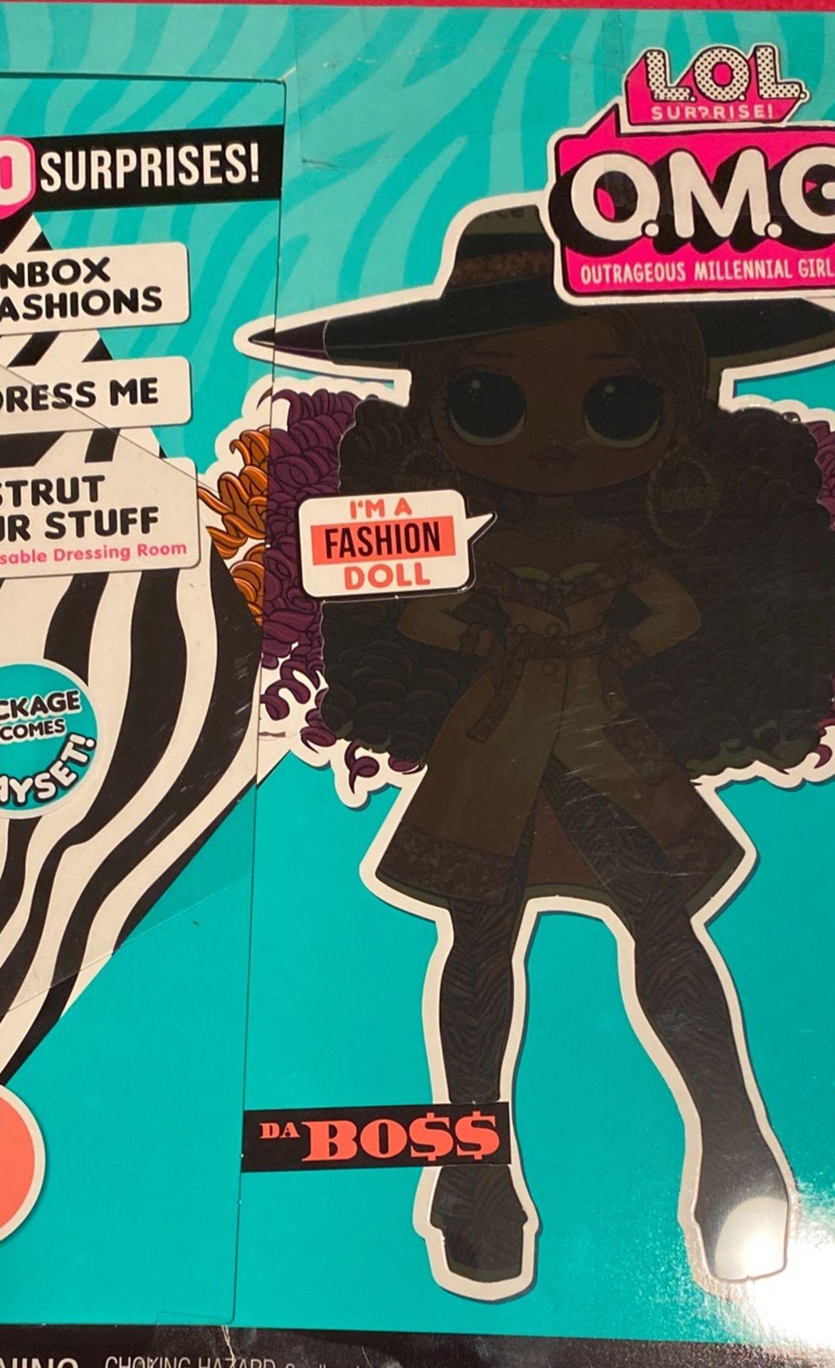 Lol Surprise Omg Doll Fashion Doll Da Boss