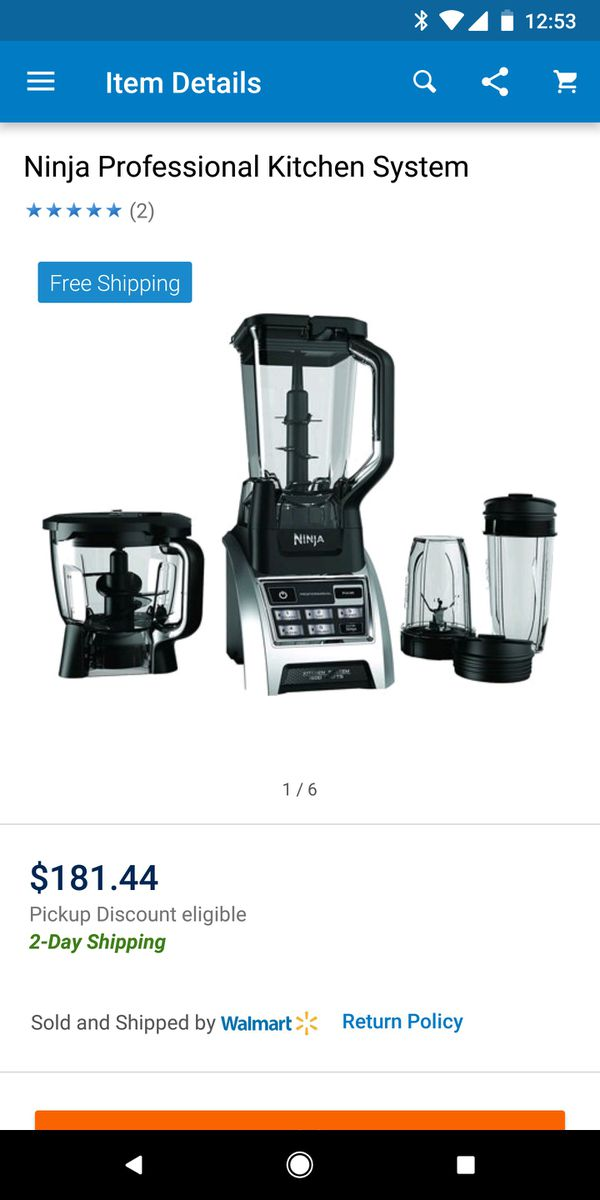 Ninja professional kitchen system for Sale in Clarksville ...