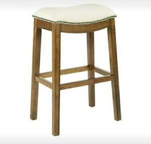 Used, NEW Saddle Bar Stool with Nailhead Trim for sale  Springdale, AR