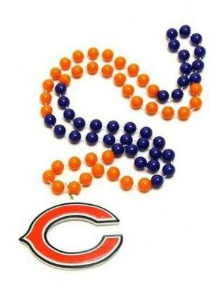 NFL CHICAGO BEARS BEADS MEDALLION for Sale in Las Vegas, NV