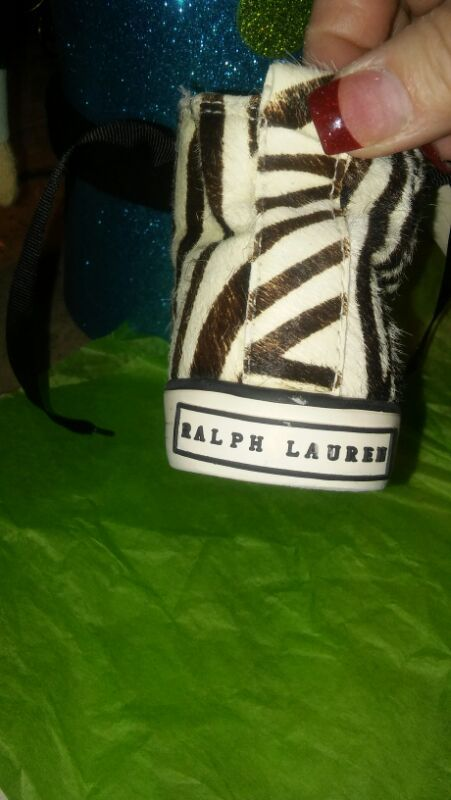 Ralph Lauren Size 10 Toddler tiger print New