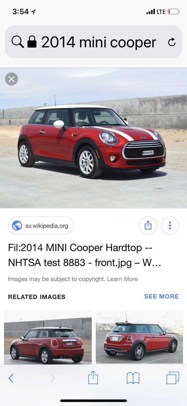 Like New Original Mini Cooper 2014 Hardtop Carpets Auto Parts In
