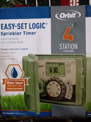 4 station sprinkler timer for Sale in Fresno, CA