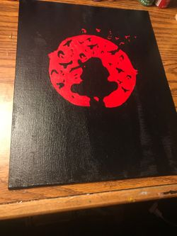Itachi naruto painting Thumbnail
