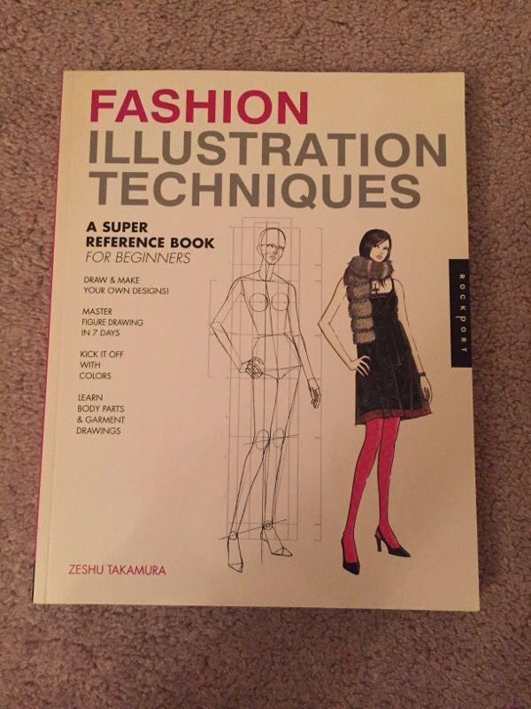 Fashion Illustration Techniques Book For Sale In Chula Vista Ca Offerup