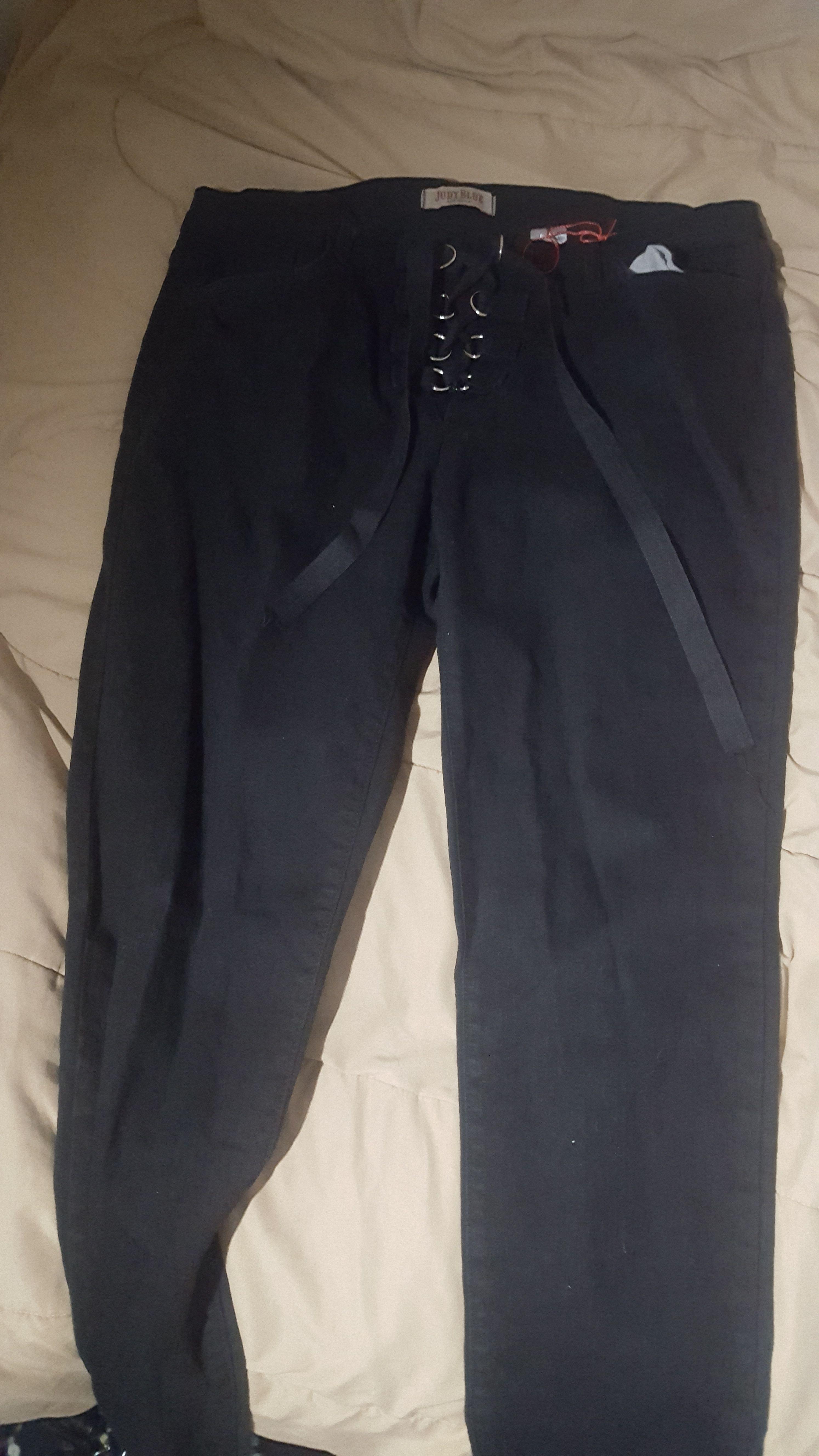 Judy blue lace up pants