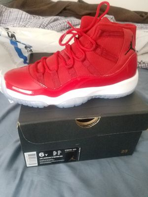 72fe96a70617 Jordan retro 11 s size 6 in boys for Sale in Arlington Heights