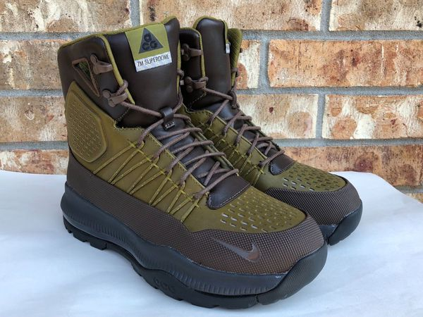 5b73f008b5b85 ... Nike Zoom Superdome ACG Boots Green Baroque Brown Olive Flak 654886-230  sz 8.5 for ...