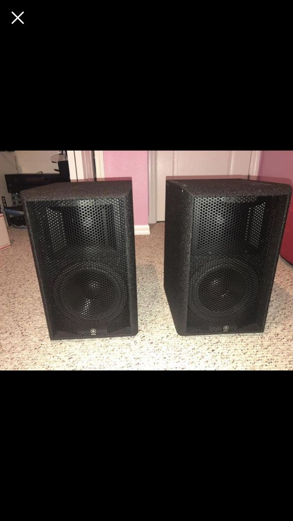 Yamaha AS108 II PA passive speakers for Sale in Clermont, FL - OfferUp
