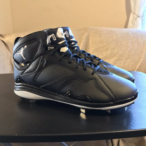 b95f1ef92ed5 NEW Nike Air Jordan Retro 7 Baseball Cleats - Men s 13 for Sale in ...