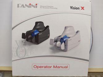 Panini Vision X Check Scanner Thumbnail