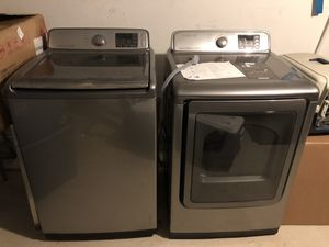 Samsung High-capacity Washer & Dryer for Sale in Alexandria, VA