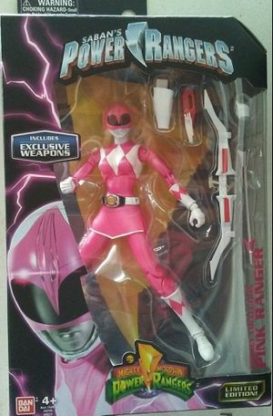 Mighty Morphin Power Rangers, Lagacy Collection, Pink Ranger for Sale in Fresno, CA