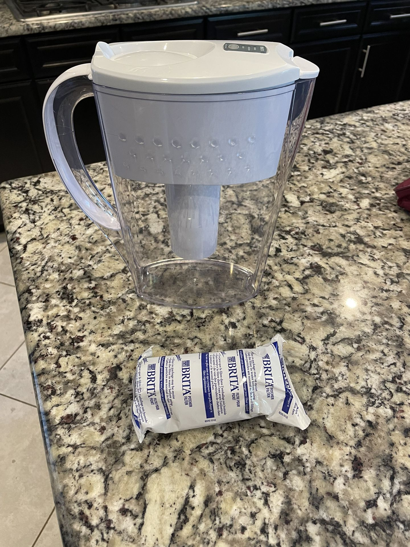 Brita With Extra Pitcher Filter