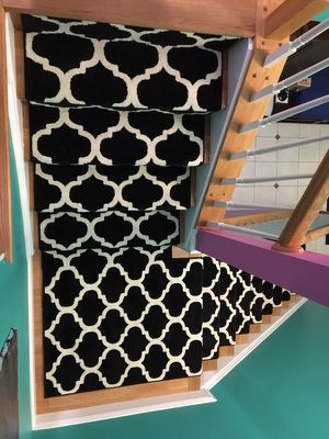 Decorative contemporary Stairs runners $10 per ft for Sale in Sterling, VA