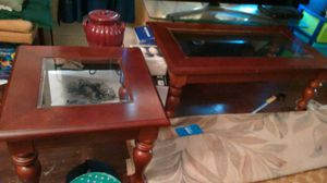 Coffee and 2 end tables for Sale in Lynchburg, VA