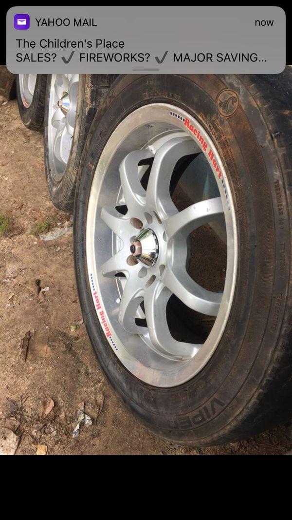 Gmc Tires Spartanburg >> Rims 16x7 wheels universal 5 lugs (Auto Parts) in Spartanburg, SC - OfferUp