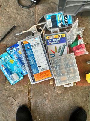 Misc. Clamps ,tools, screws for Sale in Manassas, VA