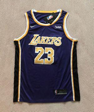 286630f4d01 LeBron James Los Angeles Lakers Nike NBA Basketball Home Purple Jersey -  Size XL   XXL