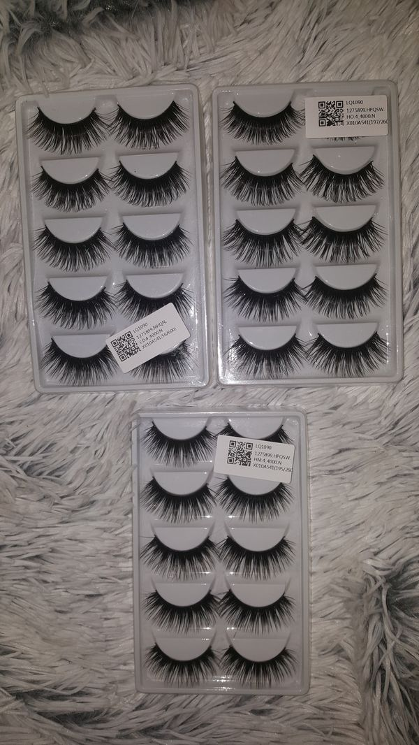 Long Thick False Eyelashes 15 Pairs For Sale In Modesto Ca Offerup