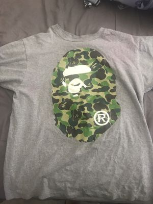 78a89562 New and Used Bape shirt for Sale in Carson, CA - OfferUp
